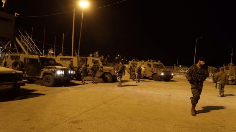 جيش الاحتلال يعتقل 19 فلسطينيًا في الضفة الغربية