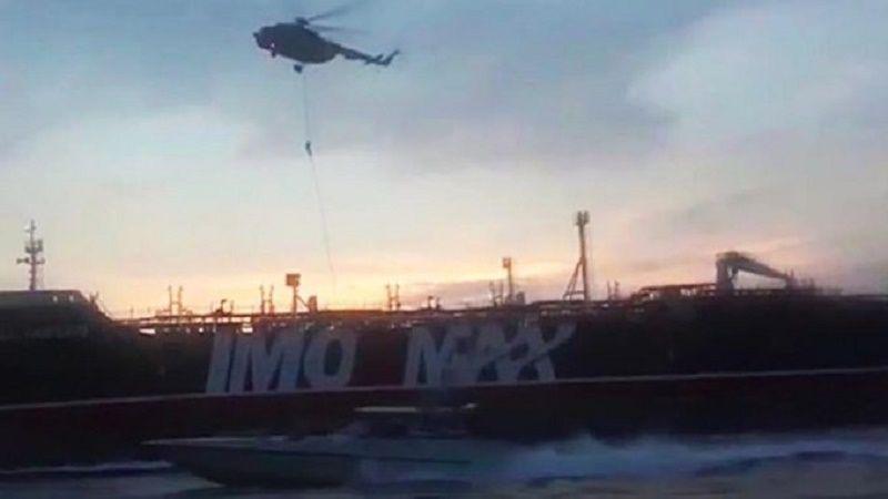 بالفيديو: عملية احتجاز «Stena Impero»