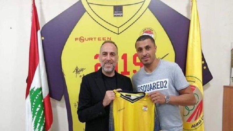 العهد يقدم لاعبه التونسي عكايشي