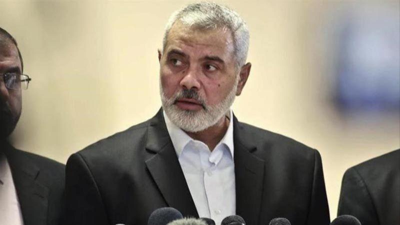 هنية: المقاومة تمتلك صواريخ تضرب أيّ نقطة في فلسطين المحتلة