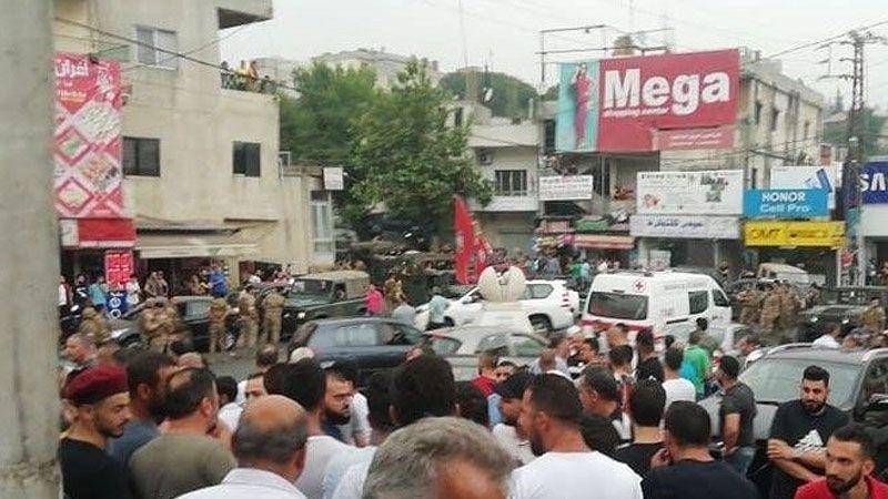 ارسلان في تشييع ابو فراج: الفتنة أشد من القتل