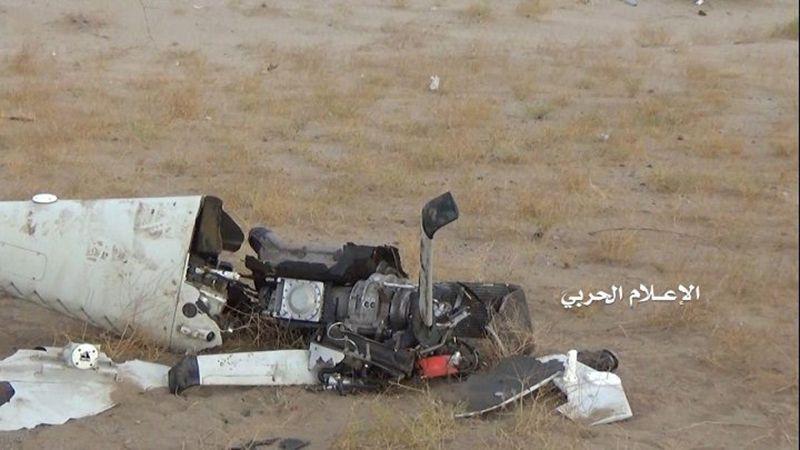انجازات سلاح الجو اليمني تتوالى .. إسقاط طائرة تجسسية سعودية في الحديدة