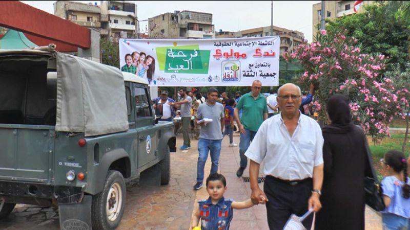 بالفيديو: طرابلس تستعيد حيويتها بعد ركود بدد فرحة العيد