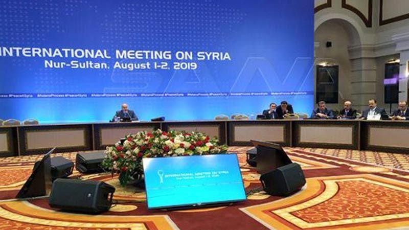 """""""أستانا 13"""" : توافق على تشكيل اللجنة الدستورية السورية"""