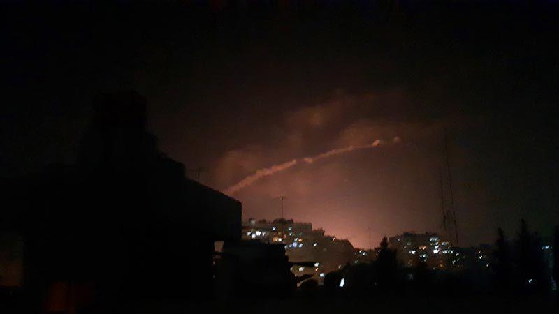 عدوان إسرائيلي على تل الحارة بريف درعا