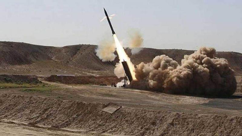 """اليمن: استهداف تجمعات العدوان السعودي في نجران بأربعة صواريخ """"زلزال1"""""""