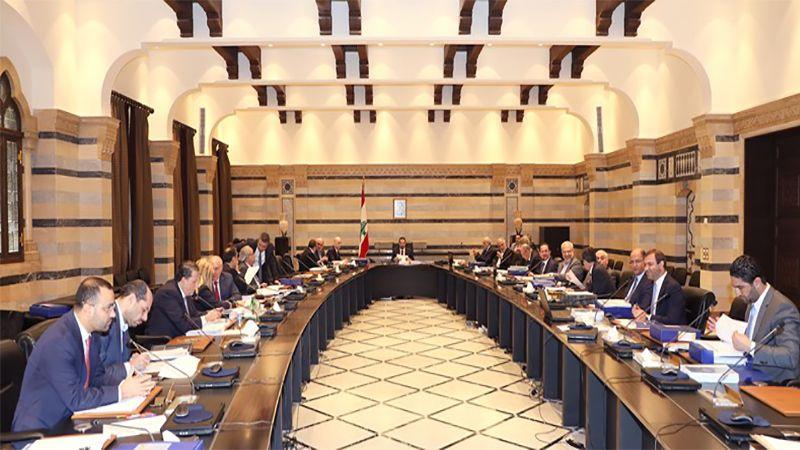 مجلس الوزراء استكمل البحث في التقديمات للمؤسسات والجمعيات ويعقد جلسته المقبلة ظهر الغد