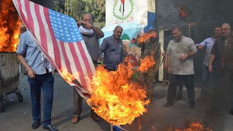 إضراب عام في مخيمي عين الحلوة والمية تنديدًا بمؤتمر البحرين التطبيعي