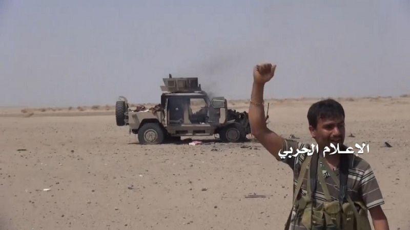 اليمن: مصرع غزاة ومرتزقة وتدمير آليتين في كمين محكم بالساحل الغربي