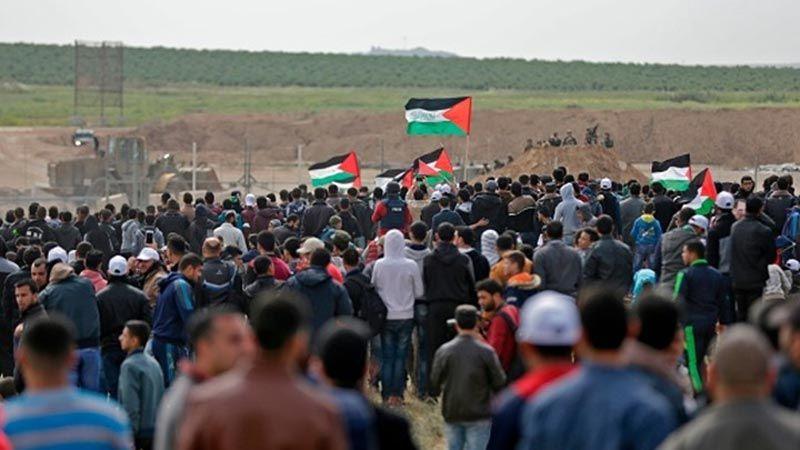 الفلسطينيون يخوضون معركة لإجهاض القرار الأمريكي ضد المقاومة