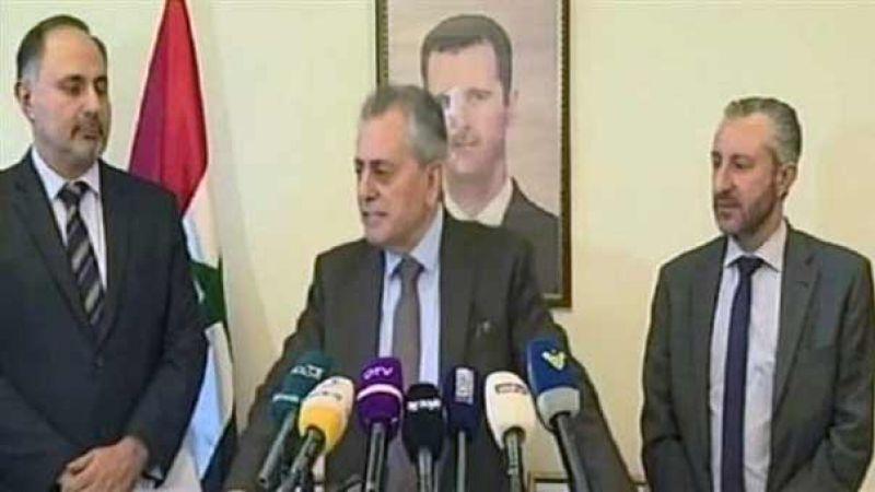 السفير السوري: سوريا تحتاج عودة ابنائها والتعاون مع الدولة اللبنانية تفرضه مصلحة البلدين