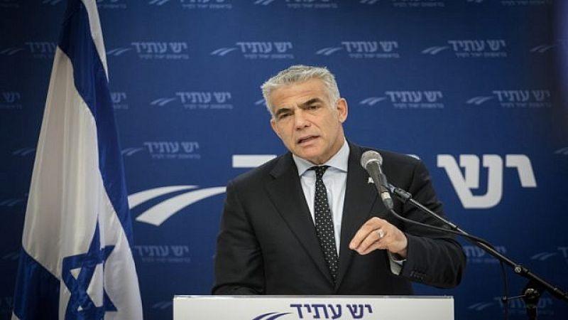 """يئير لبيد: تصريحات نتنياهو سبّبت الهلع لـ""""اسرائيل"""""""