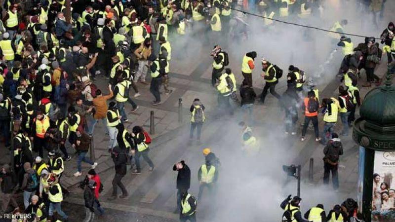 النار تشتغل في باريس..جرحى ومعتقلون بالمئات