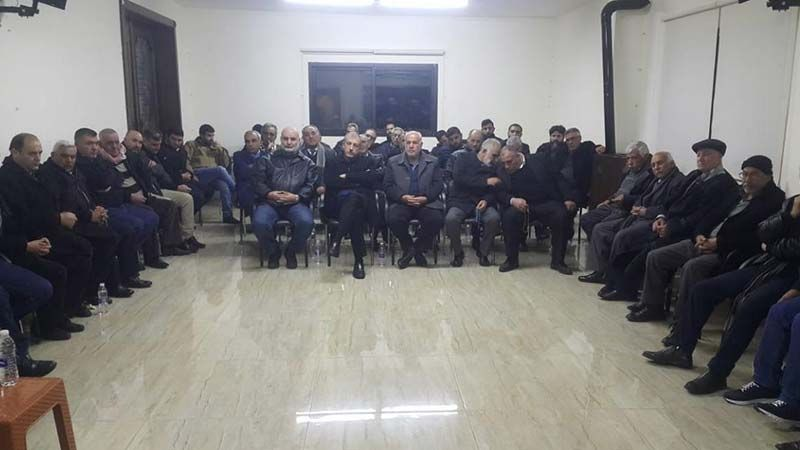 """لقاء لـ""""الوفاء للمقاومة"""" في شمسطار يبحث حاجات المنطقة"""
