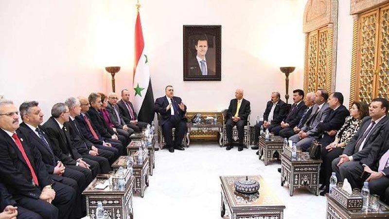 التطبيع بين دمشق وعمّان على قدم وساق