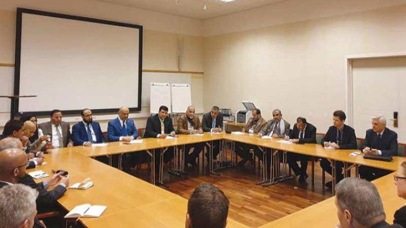 مشاورات السويد: إرجاء اجتماع لجنة الأسرى لعدم التزام وفد الرياض