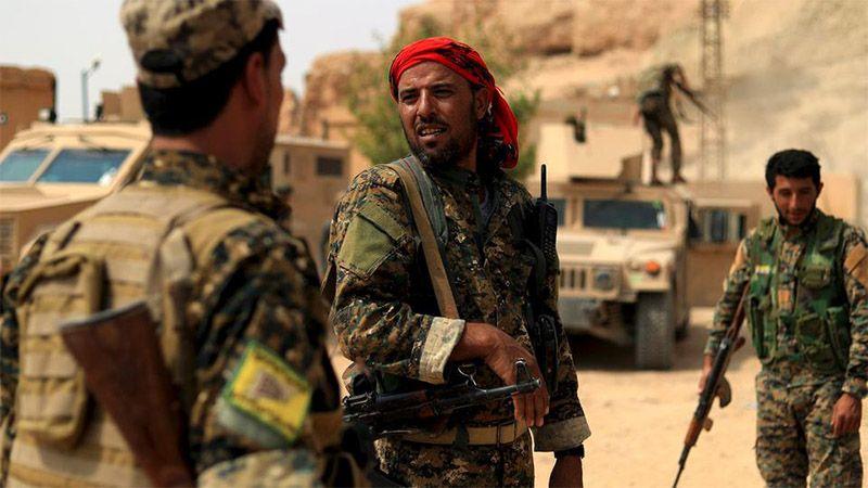 "عسكريون إماراتيون وسعوديون في مناطق ""قسد"""