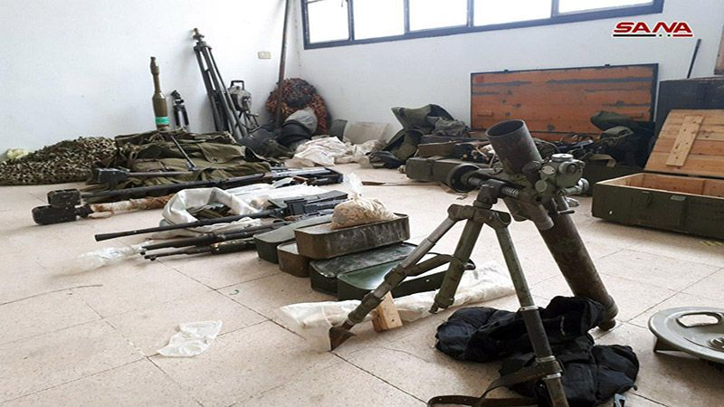 """درعا: العثور على أسلحة بينها صواريخ """" إسرائيلية"""" غرب نوى"""