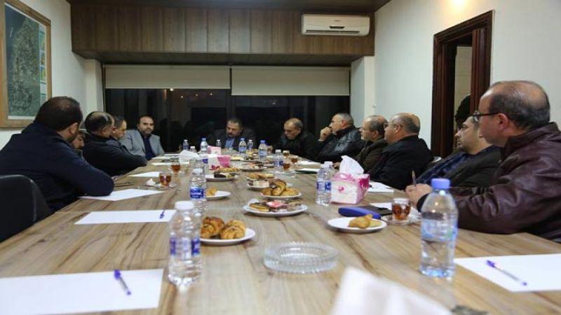 اتحاد بلديات الزهراني استعرض مع مؤسسة مياه لبنان الجنوبي مشاكل المياه والصرف الصحي