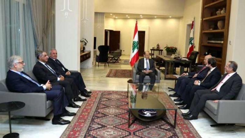 أبرز ما دار في اجتماع الرئيس عون باللقاء التشاوري