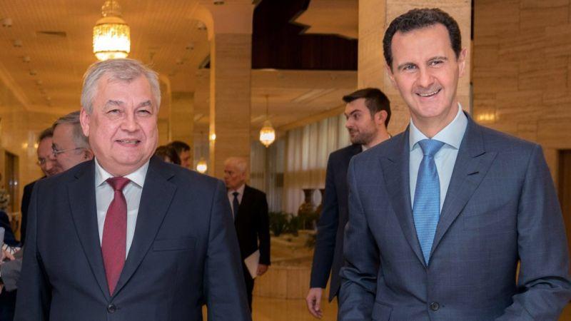 الرئيس الأسد بحث مع وفد روسي تشكيل اللجنة الدستورية السورية