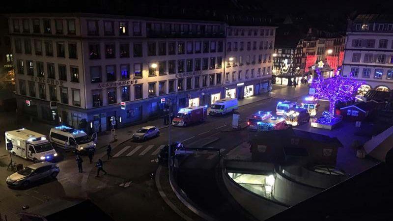4 قتلى و11 جريحاً بهجوم مسلّح على سوق الميلاد في ستراسبورغ الفرنسية