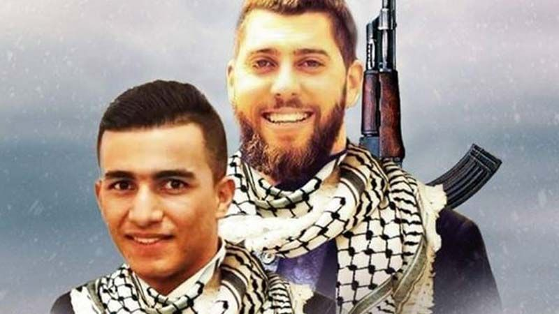 الفصائل الفلسطينية تزفّ الشهيديْن نعالوة والبرغوثي