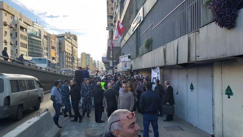"""اعتصام لـ """"حزب سبعة"""" أمام 4 وزارات"""