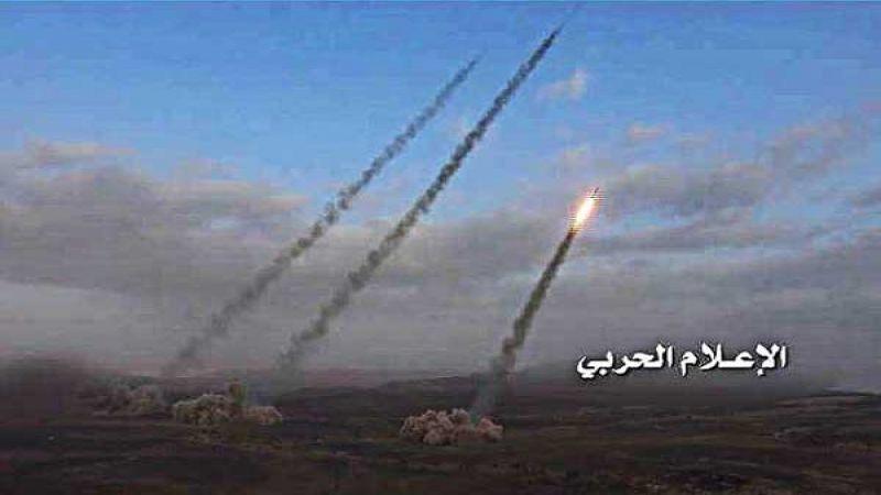 """اليمن: استهداف مواقع العدوان السعودي في جيزان بـ 4 صواريخ """"زلزال1"""""""
