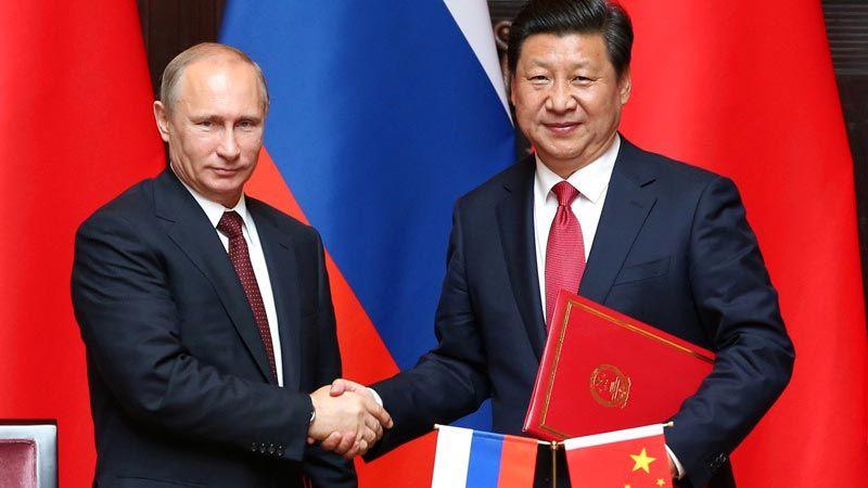 الصفحة الاجنبية: جبهة صينية روسية لمواجهة الولايات المتحدة