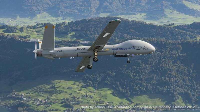 """افتتاح مصنع صهيوني في الهند لإنتاج طائرات """"هرمس"""""""