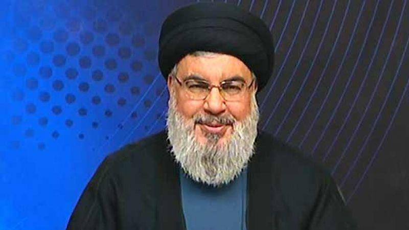 السيد نصرالله يستقبل وفداً من من قيادة حركة الجهاد الاسلامي في فلسطين