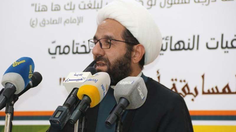 الشيخ دعموش: تمّ تثبيت حق السنة المستقلين في التوزير داخل الحكومة