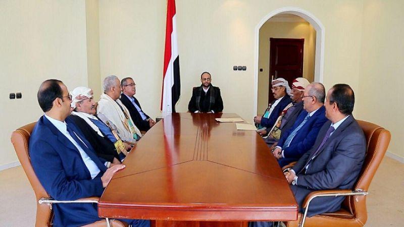 المجلس السياسي الأعلى في اليمن يمدّد للمشاط فترتين رئاسيتين