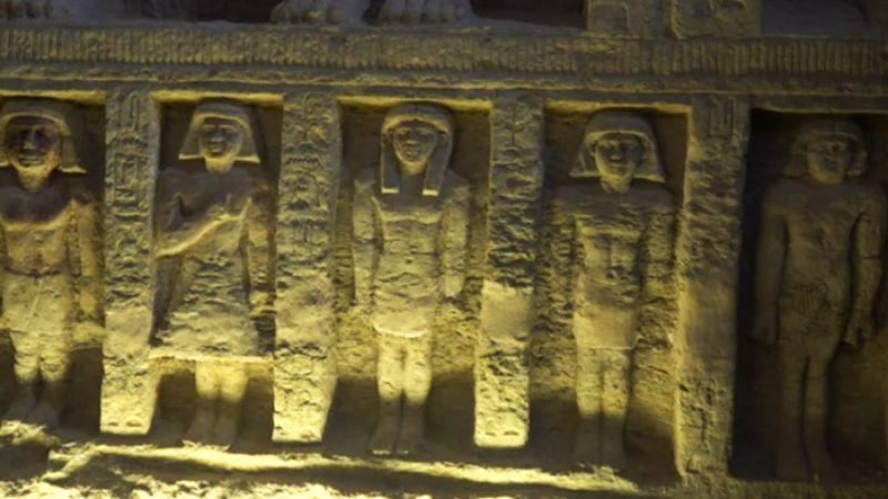 بالفيديو .. مقبرة تعود لأكثر من 4400 عام