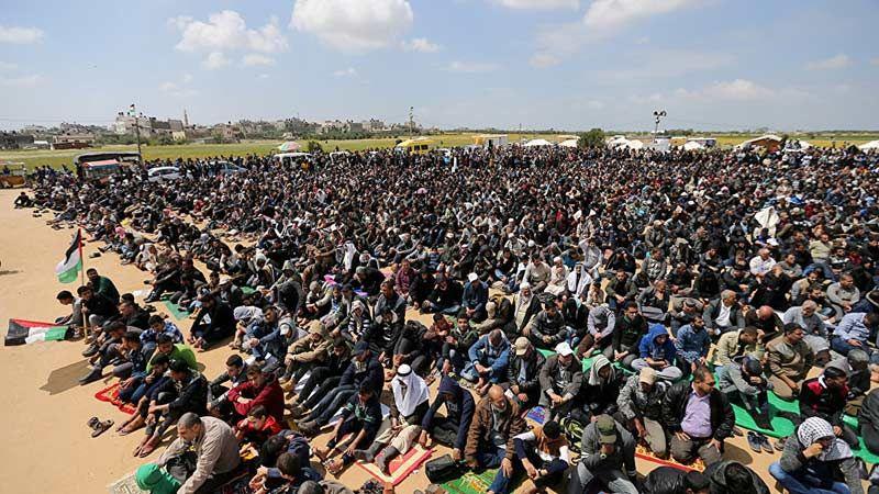 الجبهة الشعبية: هناك قرار باتخاذ إجراءات تصعيدية في مسيرات العودة