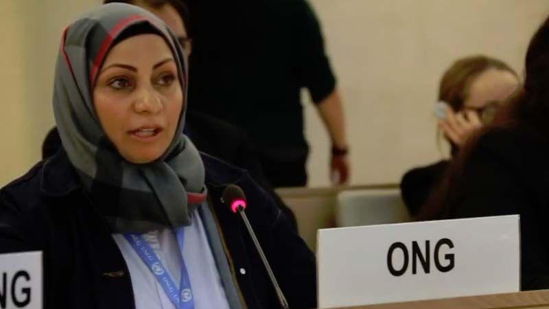 ابتسام الصائغ: نتائج كارثية للضرائب المفروضة على الشعب البحريني