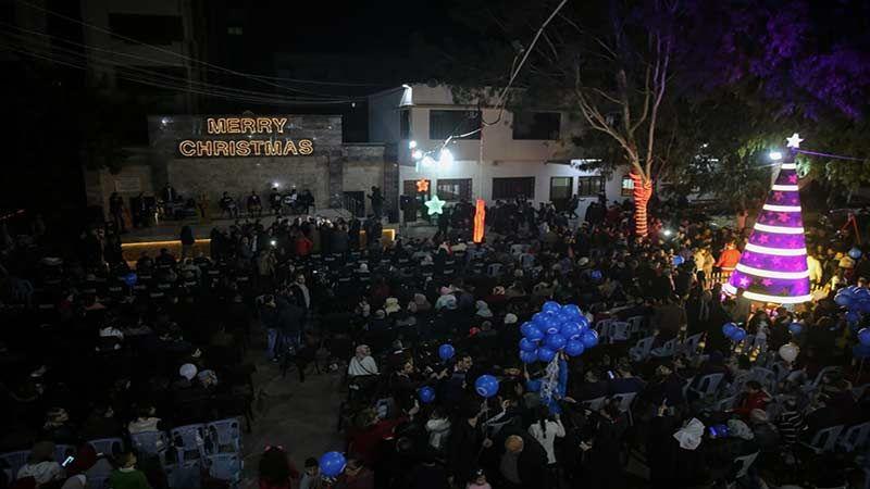 بيت لحم تحتفل بالميلاد المجيد