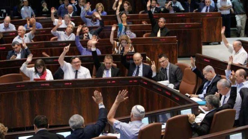 المصادقة على قانون حل الكنيست الصهيوني