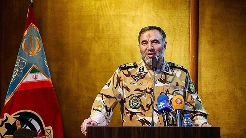 العميد كيومرث حيدري: الجيش الايراني بكامل جهوزيته