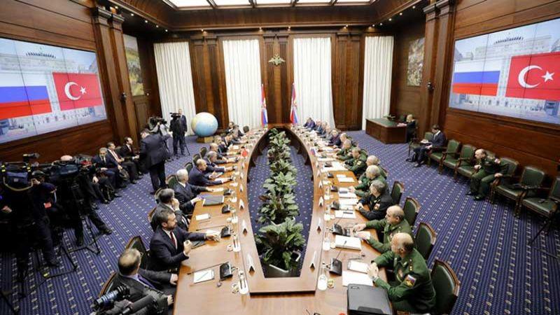 مباحثات تركية روسية بشأن انسحاب أمريكا من سوريا