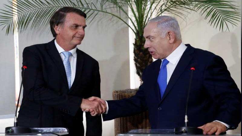 الرئيس البرازيلي يستقبل نتنياهو دون الحديث عن نقل السفارة إلى القدس