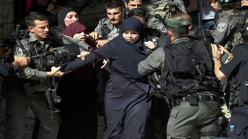 الاحتلال يعتقل 175 فلسطينية خلال العام 2018