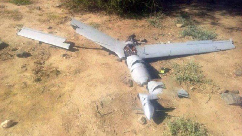 الدفاعات الجوية اليمنية تسقط طائرة تجسس لقوى العدوان على اليمن