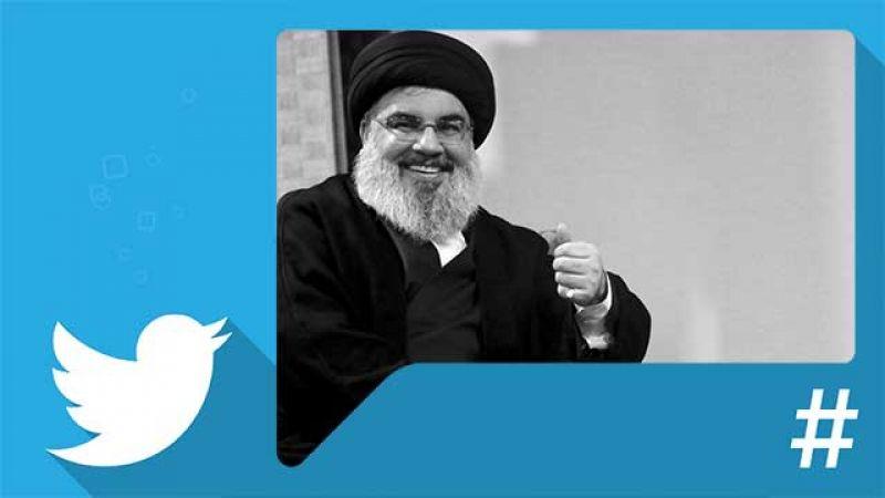 """صورة جديدة للسيد نصرالله تتصدر """"تويتر"""""""