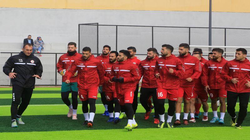 منتخب لبنان يستعد لمواجهات كأس آسيا