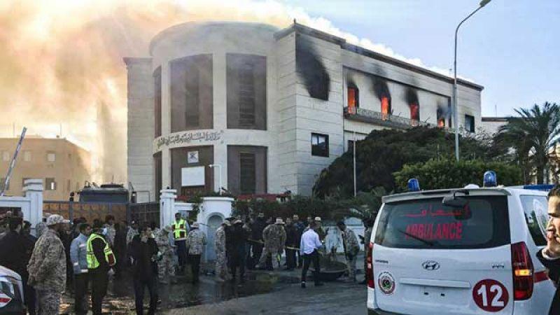 الاعتداء على وزارة الخارجية الليبية.. رسائل للداخل والخارج