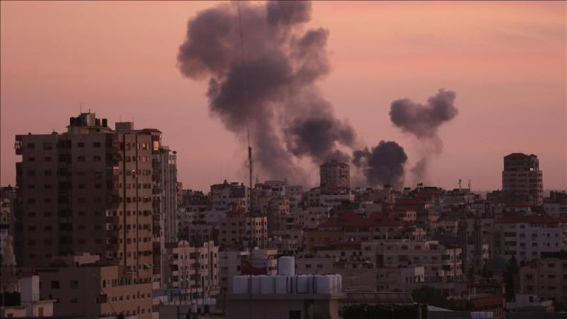 طائرات صهيونية تقصف مرصدين للمقاومة في غزة