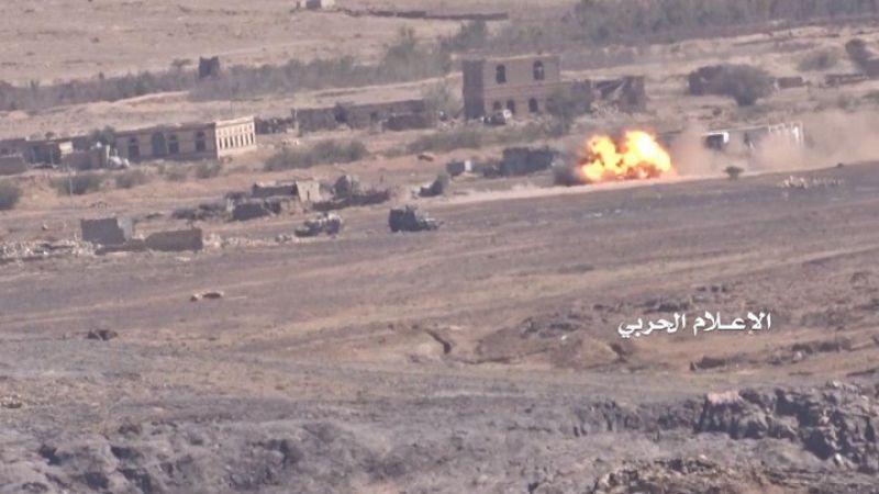افشال سلسلة هجومات لقوات العدوان السعودي في عدة جبهات