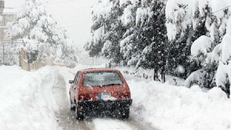 لبنان أسير العاصفة لأكثر من 60 ساعة متتالية